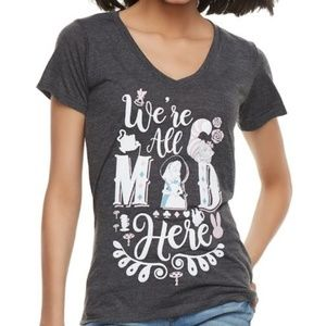 Disney Alice And Wonderland Tshirt